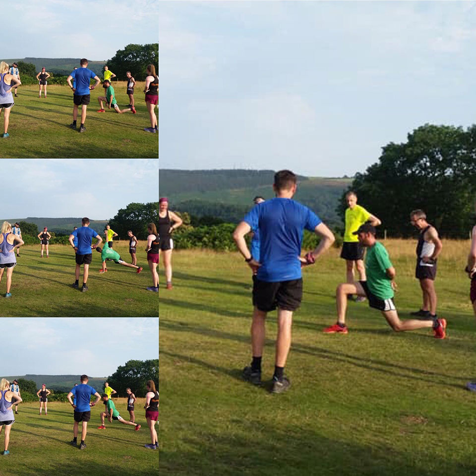 Thursday night training session in Llangollen